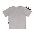 Roar Dungaree Suit For Boys - Grey (5600)