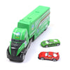 City Alloy Truck Play Set For Kids - Green (660-A150)
