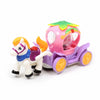 Horse Car For Kids - White/Purple (6633)