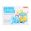Camel Trailer Toy For Kids - Blue (LD-115A)