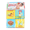 Intellect Soft Foam Learning Blocks - 4 PCs (B001)