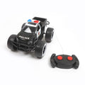Police 4x4 Remote Control Car - Black (3699-A83)