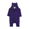 Panda Hooded Romper For Infants - Purple (BR-48)