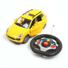 Stylish Open Door Remote Control Car - Yellow (6255-2)