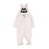 Animal Hooded Romper For Infants - White (BR-47)