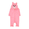 Pink Panther Hooded Romper For Infants (BR-41)