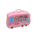 LOL CHEF Sliding Suitcase - Pink (678-101A)