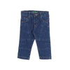 Stylish Panda Denim Pant For Boys - Blue (DP-08)