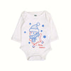 I love Snow Romper For Infants - White (009)