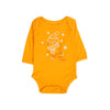 I love Snow Romper For Infants - Orange (003)