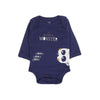 I'm Little Monster Romper For Infants - Dark Blue (010)