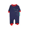 Hello Alligator Romper For Infants - Dark Blue (005)