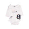 I'm Little Monster Romper For Infants - White (006)