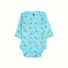 Little Princess Romper For Infants - Sky Blue (002)