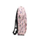 Vegetable Printed School Bag For Kids - Pink (0006)
