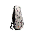 Vegetable Printed School Bag For Kids - Khaki (0006)