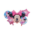 Mickey Mouse 5 Inspire Foil Balloons For Parties