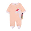 Unicorn Romper For Infants Girls - Orange (2646)
