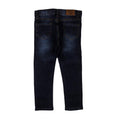 Heart Sequin Denim Pant For Girls - Dark Blue (DP-27)