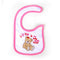Teddy Bear Bibs For Baby - Pink/White (IS-32)