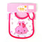 Hello Kitty Bibs For Baby - Pink/White (IS-40)