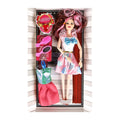 Beautiful Fashion Doll - White/Pink (682A4)