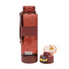 Push Button Water Bottle 600ml - Red (1374)