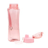 Push Button Water Bottle 600ml - Pink (1378)