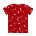 Aloha Printed T-Shirt For Girls - Red (TZ-05)