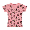 Minnie Mouse Printed T-Shirt For Girls - Pink (TZ-04)