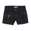 Basket Ball Denim Short For Boys - Grey (BTB-009)