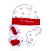 Cute Baby Cap Set - Red (023)