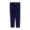 Pompom Lace Pant For Girls - Dark Blue (DP-001)