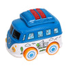 Volkswagen Pull Back Bus Toy - Blue (MY66)