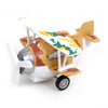 Pull Back Die Cast Fighter Plane - Orange (MY66)