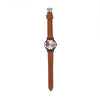 Wrist Watch For Kids - Brown (WW-31)