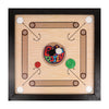 "19"" Wooden Carrom Board with Coins & Striker"