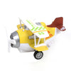 Pull Back Die Cast Fighter Plane - Yellow (MY66)