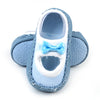 Baby Booties Set For Baby Girl - Blue (515-0)