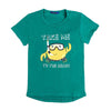 Take To The Beach T-Shirt For Boys - Green (BM5-2024)