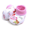 Teddy Bear Baby Booties Socks - Pink (PSK3)