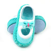 Baby Booties Set For Baby Girl - Sea Green (S15-O)