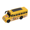 School Bus Toy For Kids - Yellow (7705)