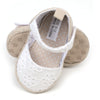 Fancy Baby Girl Booties - White/Beige (YS-BB68)