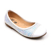 Glitter Pumps For Girls - White (SP-15)