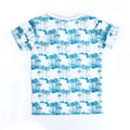 1956 Blue Waves  T-Shirt For Boys - White (TZ-03)