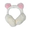Fancy Foldable Earmuff For Kids - White (EM-125)