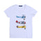 Planes Printed T-Shirt For Boys - White (BM5-2030)