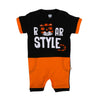 Roar Style Romper For Boys - Black (IS-23)