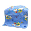 Bear Baby Changing Sheet - Blue (S-78)